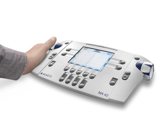 Аудіометр MAICO версії MА 42. Зовнішній вигляд